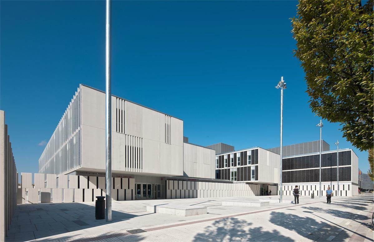 Conservatorio de musica Ayuntamiento de Pamplona