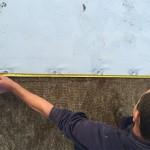 Detalle de fijación cubierta deck